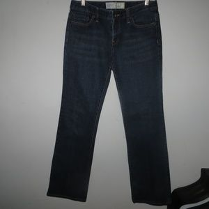 SZ 6 ANN TAYLOR SLIM BOOT CUT JEANS #444